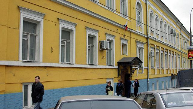 Здание Басманного суда на Каланчевской улице. Архивное фото