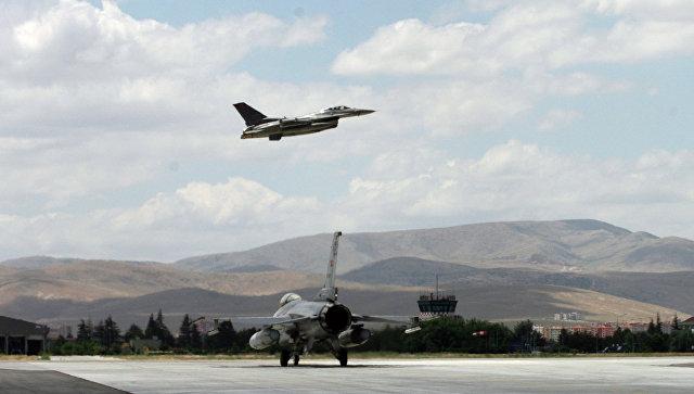 Истребители F-16 ВВС Турции. Архивное фото