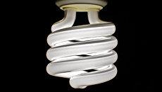 Люминесцентная лампа. Архивное фото