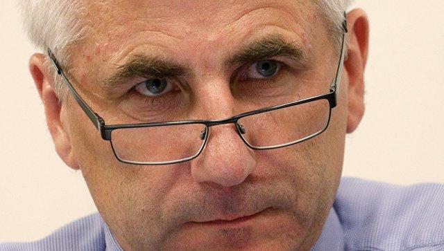 Глава представительства Евросоюза в России Вигаудас Ушацкас. Архивное фото