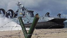 Пехотинцы прорвали вражескую противодесантную оборону на учениях Балтфлота