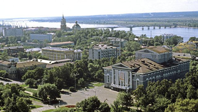 Пермь. Россия. Архивное фото