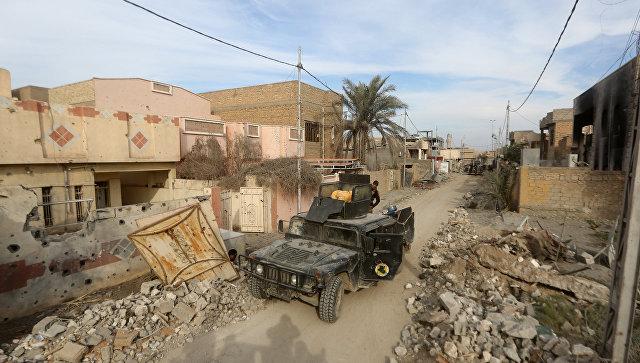 Иракские силы безопасности в городе Эр-Рамади, провинция Анбар. Архивное фото