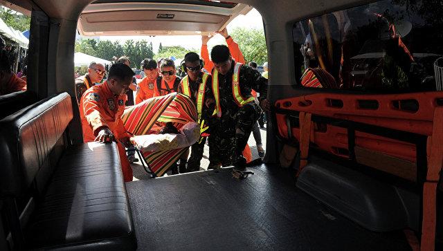 Легкий самолет разбился на Филиппинах