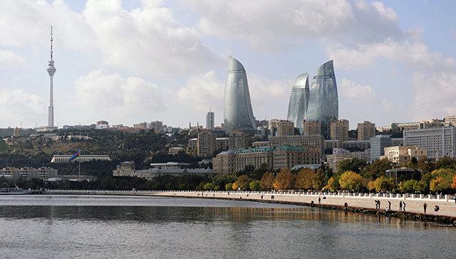 Столица Азербайджана город Баку. Архивное фото