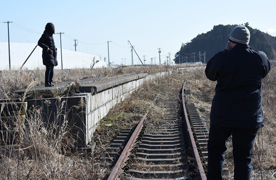 Туристы в префектуре Фукусимы