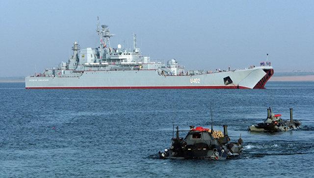Военно-морские учения с участием ВМС США. Архивное фото