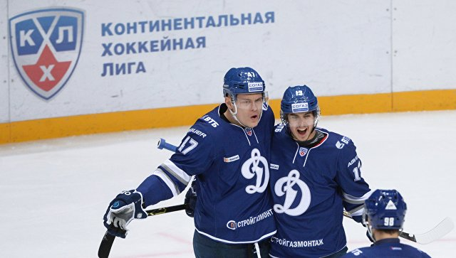 «Динамо-Москва» переиграло ярославский «Локомотив» вКХЛ
