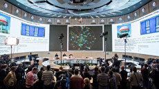 Брифинг минобороны РФ и представителей ВПК о первичных радиолокационных данных в районе крушения Boeing в Донецкой области