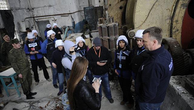 ОБСЕ сегодня будет патрулировать участок разведения сил вДонбассе
