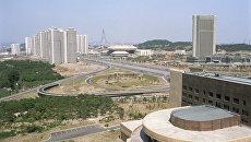 Город Пхеньян. Архивное фото