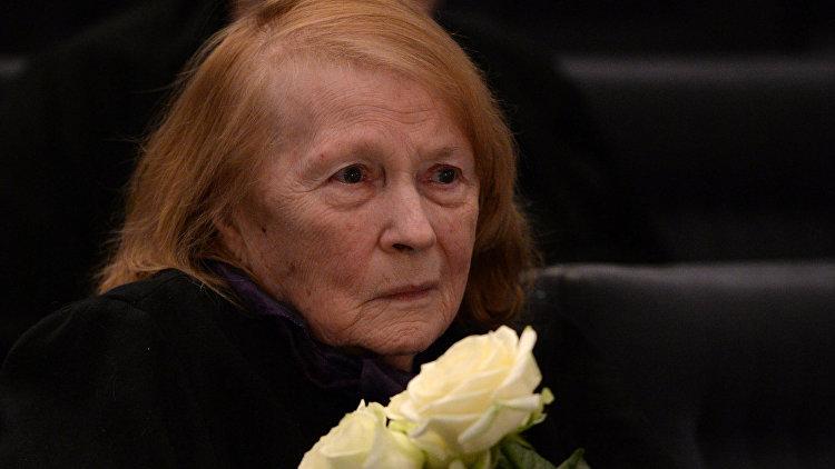 Актриса Людмила Иванова. Архивное фото
