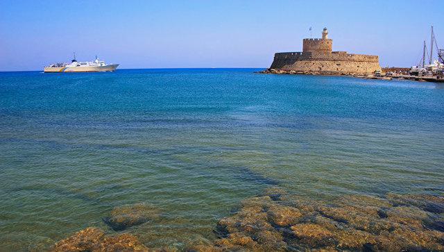 Остров Родос. Греция. Архивное фото
