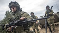 Военнослужащие в ходе командно-штабных учений с участием 106-й гвардейской воздушно-десантной дивизии в Рязанской области. Архивное фото