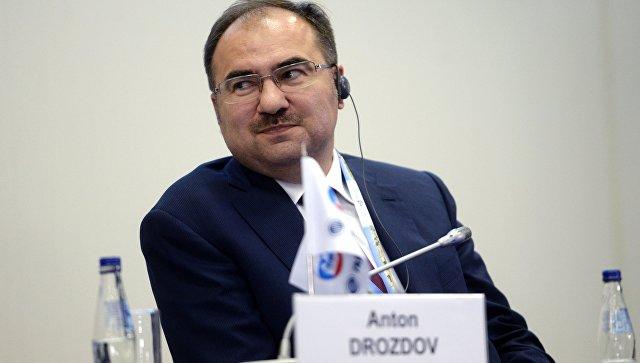 Глава ПРФ. Антон Дроздов.