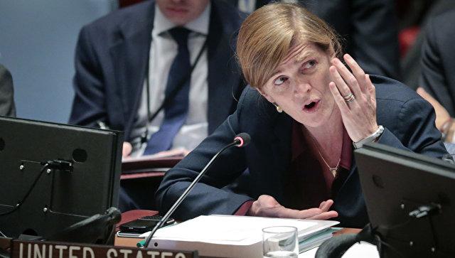 Постоянный представитель США при ООН Саманта Пауэр. Архивное фото