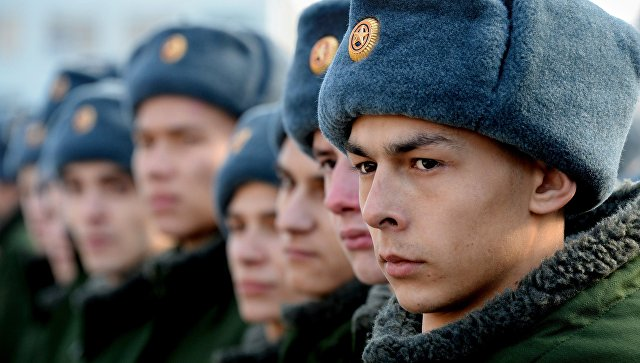 В Российской Федерации начался осенний призыв навоенную службу
