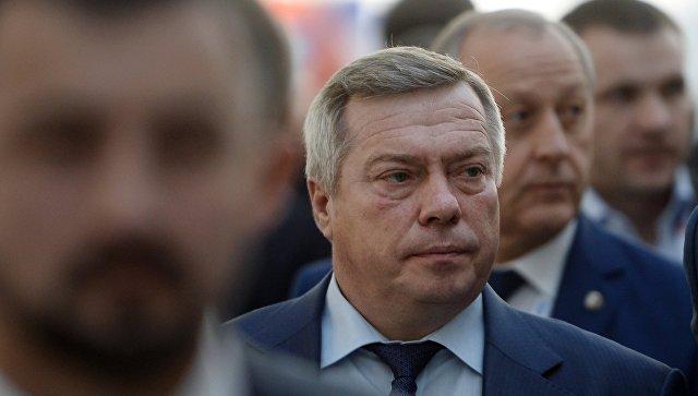 Губернатор Ростовской области Василий Голубев на международном инвестиционном форуме. Архивное фото
