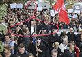 Акция протеста в Польше против ужесточения законодательства об абортах