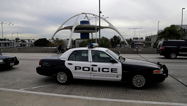 Полицейская патрульная машина. Калифорния. Архивное фото