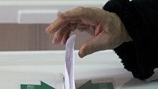 Выборы президента. Архивное фото