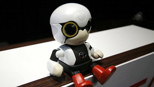 Toyota создала ребенка-робота для бездетных женщин 03.10.2016 13:09