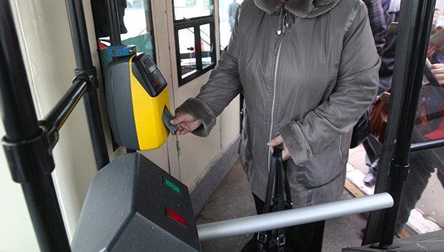 Турникеты установят вкоммерческих автобусах в российской столице