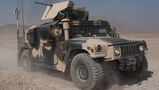 Нацармия получила новейшую партию военной техники от руководства США
