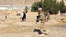 Солдат армии США в Афганистане. Архивное фото
