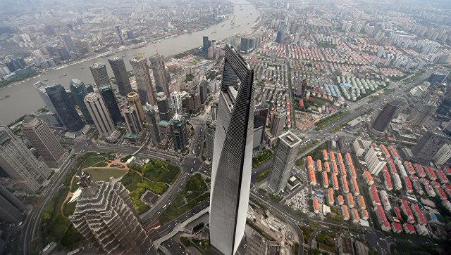 Всемирный финансовый центр в Шанхае, Китай