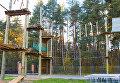 """Веревочный парк в реабилитационном центре для детей, перенесших тяжелые заболевания """"Шередарь"""""""