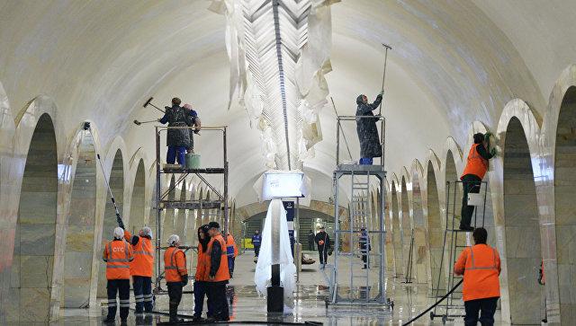 Эскалаторы настанции метро «Смоленская» планируют заменить доконца года