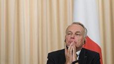 Министр иностранных дел и международного развития Франции Жан-Марк Эйро. Архивное фото