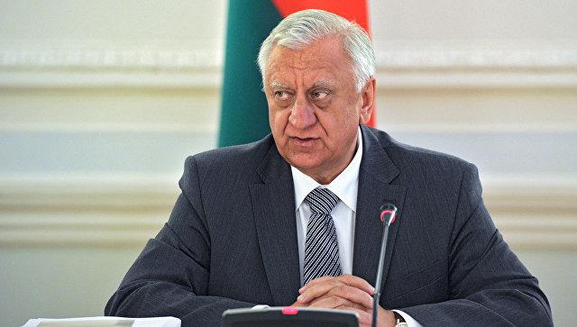 Михаил Мясникович опять стал председателем Совета Республики