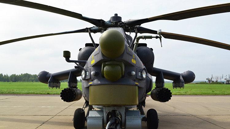 """Иракские военные получили два ударных вертолета РФ """"Ночной охотник"""" - РИА Новости, 10.12.2015"""