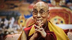 Далай-лама XIV в Риге