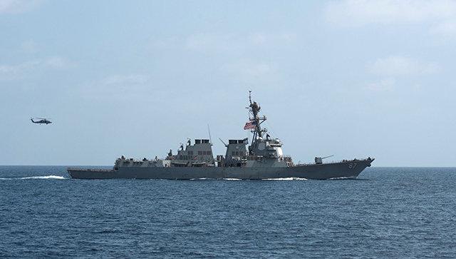 Эсминец ВМС США в 3-й раз занеделю обстрелян стерритории Йемена