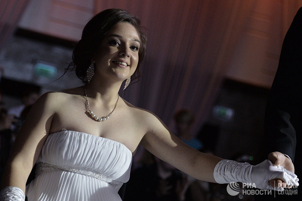 Участница конкурса Елена Семакина выступает в финале 7-го конкурса красоты Мисс Независимость - 2016 в Москве