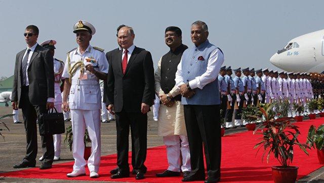 РФ обеспечит энергобезопасность Индии— Путин