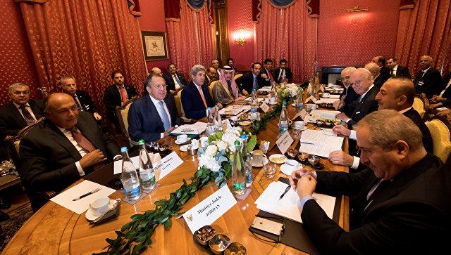 Участники переговоров по Сирии в Лозанне