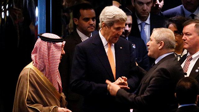 США и Англия рассматривают новые санкции против Асада и Российской Федерации,— Керри