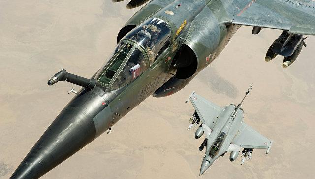 Самолет ВВС Франции. Архивное фото