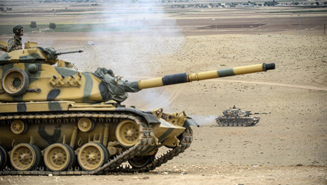 Турецкие военные на границе с Ираком. Архивное фото