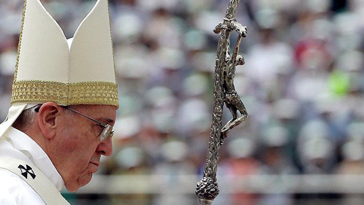 СМИ: папа римский Франциск заявил, что третья мировая уже началась
