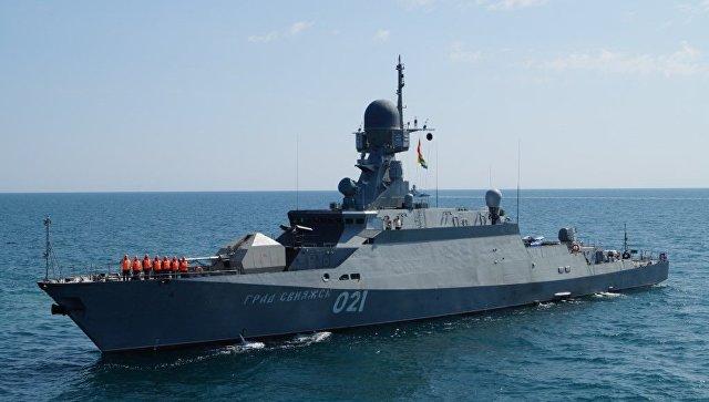 Малый ракетный корабль (МРК) нового поколения Град Свияжск