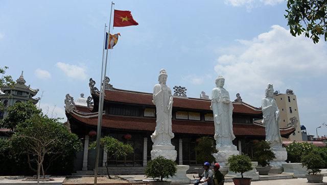 На улице Ханоя, Вьетнам. Архивное фото