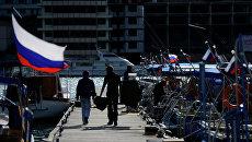 Виды Крыма. Балаклава. Архивное фото