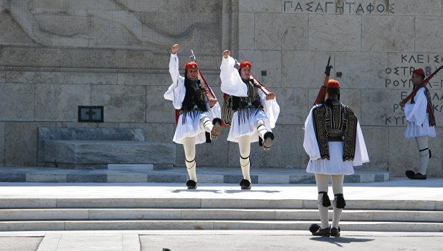Эвзоны в Афинах. Архивное фото