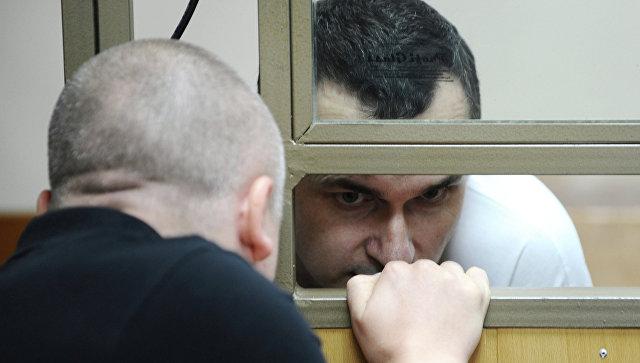 Слушание по уголовному делу в отношении украинского режиссера Олега Сенцова. Архивное фото
