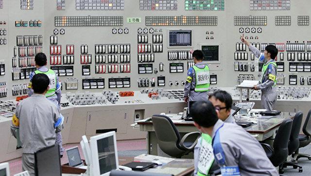 Перезапуск первого реактора АЭС Сэндай в Японии. Архивное фото